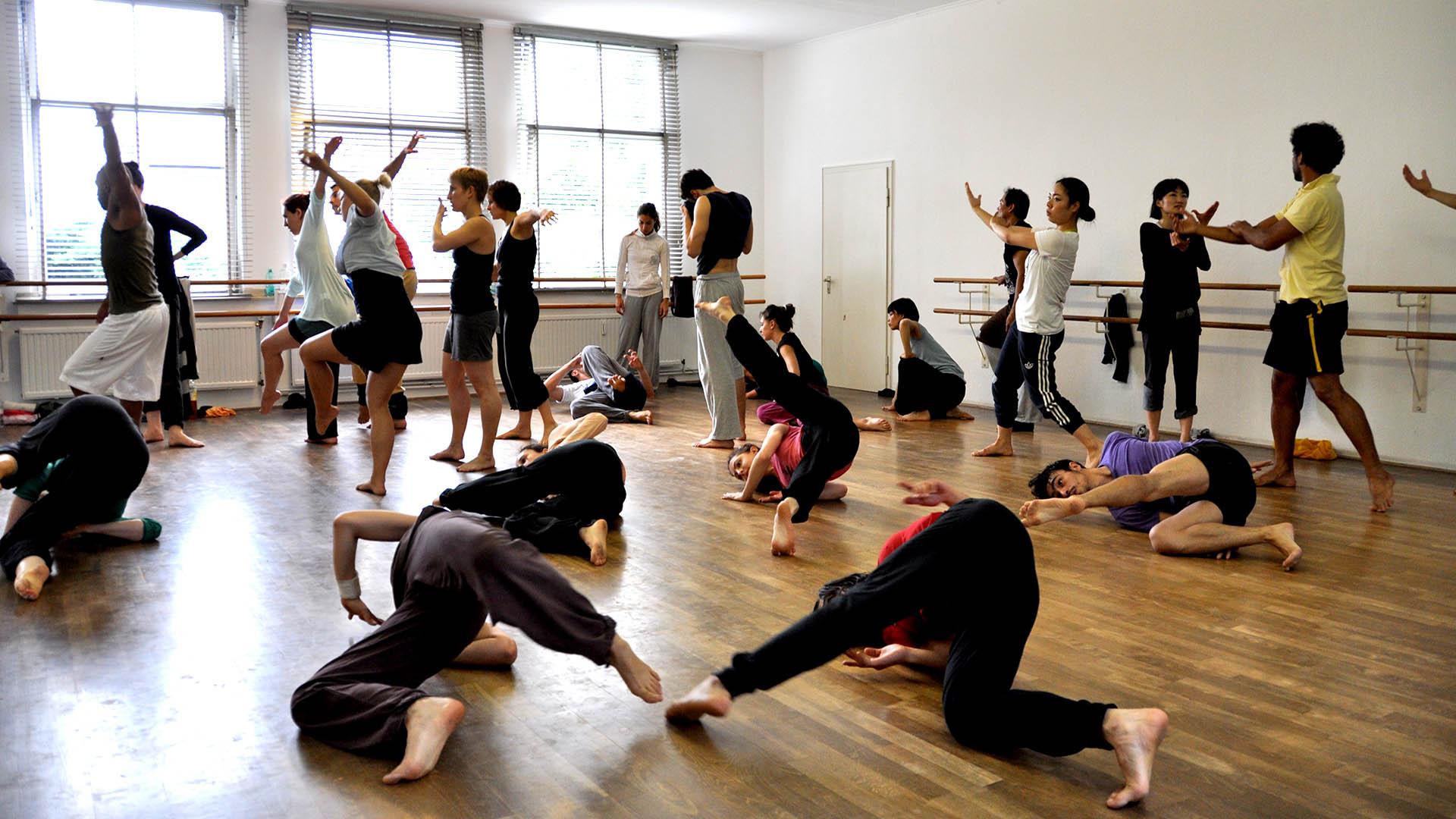 Tanztraining mit Carlos Sampaio
